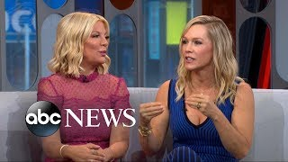 Download Tori Spelling And Jennie Garth On Luke Perry Video