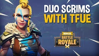 Download Playing Duo Scrims With Tfue - Fortnite Battle Royale Gameplay - Ninja Video