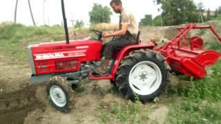Download Tractor Shibaura SP1540 cu freza de sol Video