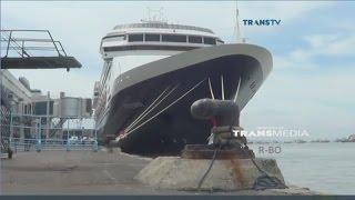 Download Kapal Pesiar Super Mahal MS Volendam Singgah di Tanjung Perak, Surabaya Video