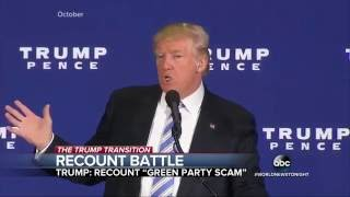 Download Trump Lashes Out at Election Recount Video
