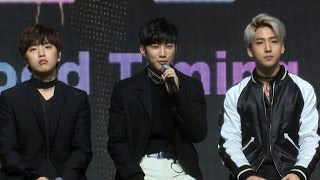 Download [ENG] B1A4 'A lie'(거짓말이야) TALK Showcase (비원에이포, 진영, 신우, 산들, 바로, 공찬) [통통영상] Video