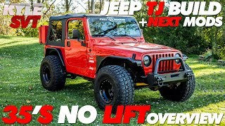 Download Jeep TJ Build + Next Mods | 35's No Lift Video