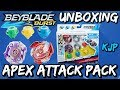 Download Apex Attack Pack (Beyblade Burst Unboxing, QR Codes, and Test!) Video