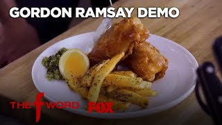 Download Gordon Ramsay Demonstrates How To Make Fish & Chips: Extended Version | Season 1 Ep. 6 | THE F WORD Video