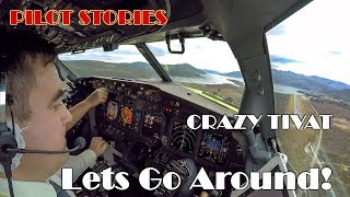 Download Pilot stories: Go Around in stormy Tivat Video