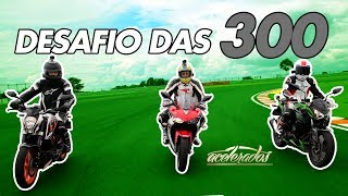 Download YAMAHA R3 X KAWASAKI Z300 X KTM DUKE 390 - VOLTA RÁPIDA COM ALEX BARROS #7 | ACELERADOS Video