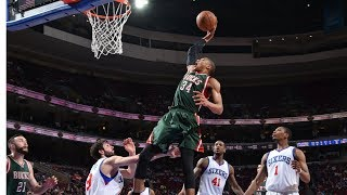 Download Giannis Antetokounmpo's Top 34 Most FREAKISH Plays! Video