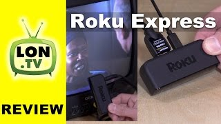 Download Roku Express / Express Plus Review - $29 Roku Streaming Box / The + works with old TVs! Video