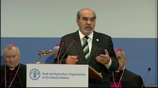 Download World Food Day 2017 - speech by FAO Director-General José Graziano da Silva Video