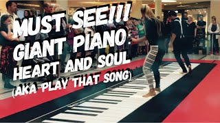 Download must see! lovely performance on a GIANT piano Video