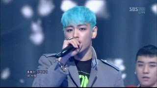 Download BIGBANG 0311 SBS Inkigayo INTRO & BLUE Video