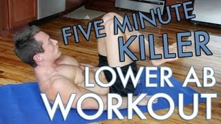 Download 5 Minute Lower Ab Workout! Video