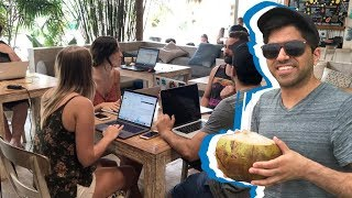 Download I tried living as a digital nomad for the day | CNBC Reports Video