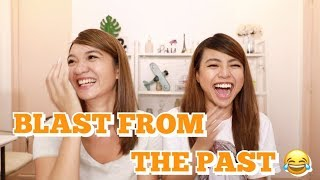 Download REACTING TO FUNNY OLD PHOTOS w/ MICHELLE DY | Angel Dei Video