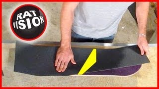 Download Put On Skateboard & Longboard Grip Tape CORRECTLY Video