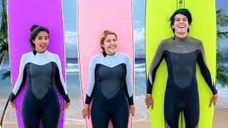 Download SURFEAMOS POR PRIMERA VEZ | LOS POLINESIOS VLOG Video