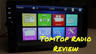 Download TomTop 7 inch Double Din Car Stereo Review Video