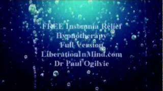 Download FREE Can't Sleep-Insomnia Relief Hypnosis Video
