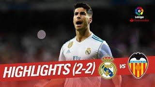 Download Resumen de Real Madrid vs Valencia CF (2-2) Video