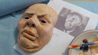 Download Paper Mache Halloween Portrait Mask Video