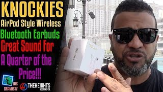 Download Knockies AirPod Style Bluetooth Earbuds 🎧 : LGTV Review from Dubai Video