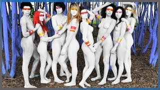 Download Blue Trees & Body Paint | Houston, TX Video