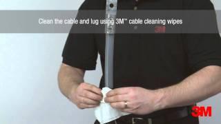Download 3M™ Standard MV Indoor Cold Shrink Termination - Part Integrated (QTII) Video