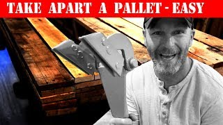 Download How To Take Apart A Pallet and Remove Nails (2 Easy Ways) Video