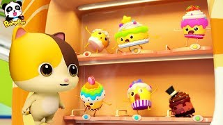 Download Baby Kitten Loves Cupcakes | Magical Vending Machine | Ice Creams, Candy Song | Baby Song | BabyBus Video