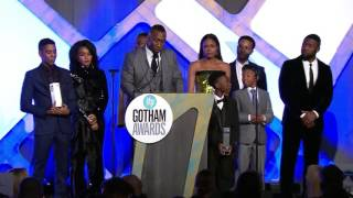 Download The cast of MOONLIGHT accepts a Special Jury Prize 2016 IFP Gotham Award (Ensemble Performance) Video