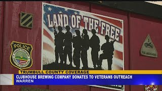 Download Clubhouse Brewing Company putting on food drive for Veterans' Outreach organization Video