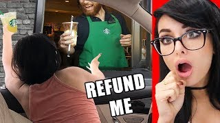 Download RUDE CUSTOMERS CAUGHT ON VIDEO Compilation Video