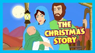 Download The Christmas Story - Birth Of JESUS CHRIST | Bible Story For Children | Bedtime Stories For Kids Video