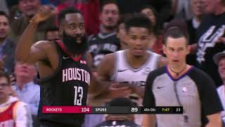 Download James Harden Couldn't Believe Refs Took Away This Dunk Video