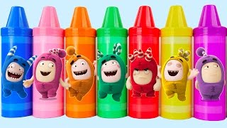 Download Learn Colors for Kids Oddbods Body Paint Finger Family Nursery Rhymes PEZ Mickey Mouse Microwave Video
