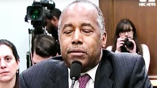 Download Sleeping Ben Carson Throws His Wife Under The Bus During Testimony Video