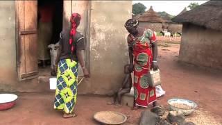 Download African village Bödjögö North Ivory Coast Video