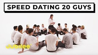 Download 20 vs 1: Speed Dating 20 Guys | Jubilee x Solfa Video