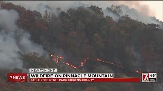 Download Pickens County Wildfire evacuations Video