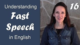 Download Day 16 - Dropping the D and Saying ″and″ - Understanding Fast Speech in English Video