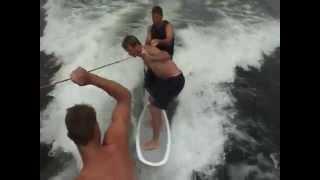 Download wakesurfing behind nautique 210 Video