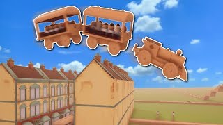 Download SUPER FAST TRAIN JUMPS HOUSES?! - Tracks: The Train Set Game Gameplay - Building Train Tracks! Video