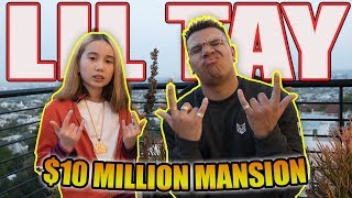 Download LIL TAY $10 MILLION MANSION (HOUSE TOUR + BHAD BHABIE DISS) Video