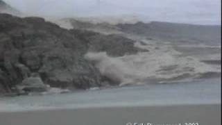 Download Ilulissat, Greenland - Giant rolling Iceberg creates a tsunami like wave Video