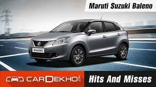Download Maruti Suzuki Baleno Hits and Misses | CarDekho Video