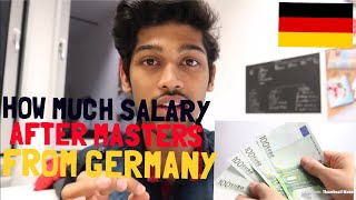 Download HOW MUCH YOU WILL EARN AFTER YOUR MASTERS FROM BERLIN, GERMANY? Cal. the cost of living in REALTIME Video
