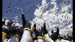 Download Moments from Air Force Academy Class of 2018 graduation Video
