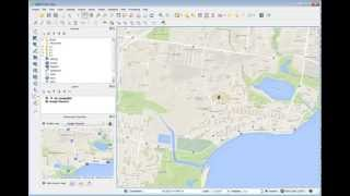 Download Visualing GPS Waypoints with qGIS Video