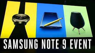 Download Samsung Galaxy Note 9 event in 11 minutes Video